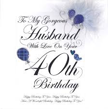 husbands 40th birthday ideas for my husband good gifts party uk