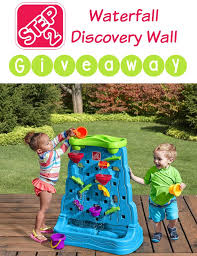 find out more about the step2 waterfall discovery wall and find out how you could win one too