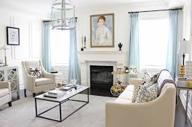 Art over Fireplace - Transitional - Living Room - Toronto - by AM ...