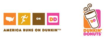 dunkin donuts logo transparent. Beautiful Donuts America Runs On Dunkin Png Logo 3130 To Dunkin Donuts Logo Transparent