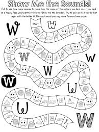 free-alphabet-game-is-for-letter-w - Preschool Crafts