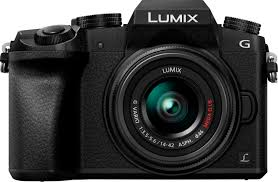 <b>Panasonic LUMIX</b> G7 Mirrorless 4K Photo Digital Camera Body with ...