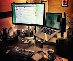 laptop desk setup amazing of small desk setup magnificent office furniture decor cool laptop desk setups
