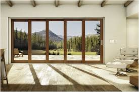 marvin s newest addition to its scenic doors line ultimate multi slide door