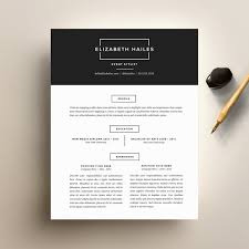 Etsy Resume Resume Template and Cover Letter Template for Word DIY 1