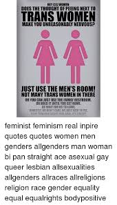 Bisexual gay lesbian queer transgender woman