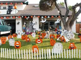 outdoor decorations fun and scary outdoor homemade yard decor ideas