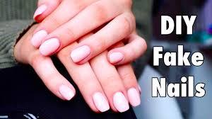 DIY Easy <b>Fake Nails</b> - YouTube