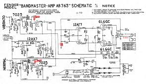 ab763 models note the solid state rectifier at lower right the 440 volts on the power tube plates is the same as the pro also note the 500pf phase inverter input