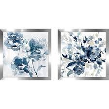 save  on framed blue wall art set with framed wall art joss main
