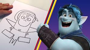 Learn to Draw Barley from Onward with Pixar! | Disney News