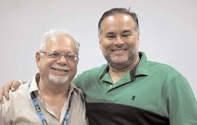 Panama Prevails in Pairs: Fernando Tepedino (left) & Angel Villareal