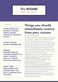 Past And Present Tense Verbs For Resume Resume Template 2018