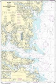 Noaa Nautical Chart 12235 Chesapeake Bay Rappahannock River Entrance Piankatank And Great Wicomico Rivers