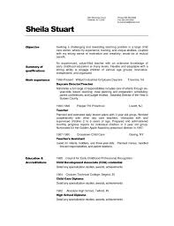 Teacher Resume Examples 2016 For Elementary School Art Template within Infant  Teacher Resume