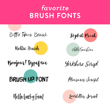 make unique business cards stationery valentineore using these beautiful brush fonts sarah hearts