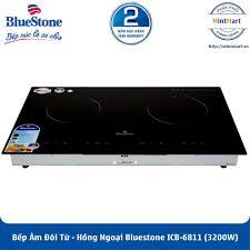 Bếp Âm Đôi Từ - Hồng Ngoại Bluestone ICB-6811 (3200W) - Hàng Chính Hãng