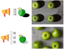 an ilration of the result of direct vs diffuse lighting on apples see easy lighting laws to boost shooting performance for more examples like this