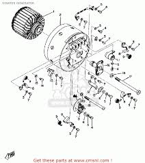 Yamaha dt125 usa starter generator schematic partsfiche electrical wire colors generator wire diagram