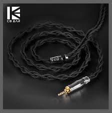 [Crazy Deals] <b>KBEAR 4</b> Core 7N Single Crystal <b>Copper Cable</b> 2.5 ...