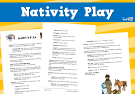 Nativity Play - Christmas Teacher Resources, Worksheets and ...