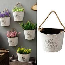 wall hanging flower pot plant pots