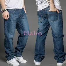 <b>Men's</b> Clothing <b>Autumn</b> New <b>Mens</b> Loose <b>fit</b> Denim Casual Baggy ...