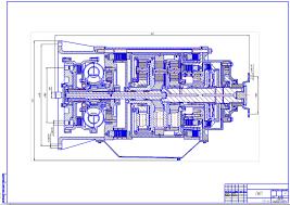 Курсовые и дипломные работы автомобили расчет устройство  Дипломный проект Гидромеханическая трансмиссия легкового автомобиля среднего класса коробка автомат