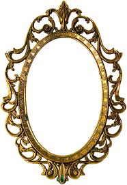 picture frames gold decorative arts oval gold