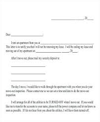 Landlord Tenancy Notice Letter Template Vacate To Sample