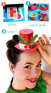 adorable diy festive mini paper top hats by happythought tutorial and free printable templates here