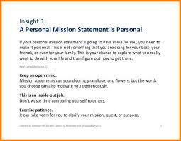 What Is Your Personal Mission 15 Examples Of Personal Mission Statements Paystub Confirmation