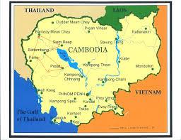 map of cambodia  heifer  x