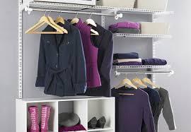 Closet with organization