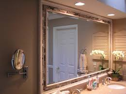Diy Bathroom Mirror Making A Frame For Bathroom Mirror Cabinet How To Make A Recessed