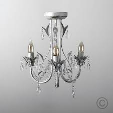 shabby vintage chandeliers vintage shabby chic style antique white cream 3 way