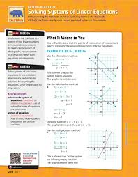 ee 8b solve sstems of two linear equations in two variables