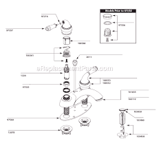 moen bath faucet repair moen 4551 parts list and diagram ereplacementparts