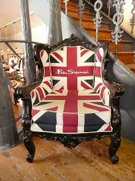 i love this ben sherman union jack chair