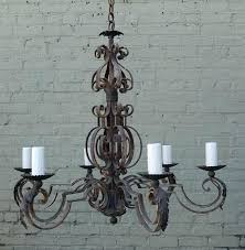spanish wrought iron chandelier 5 light antique wrought iron chandeliers for kitchen lighting spanish style wrought