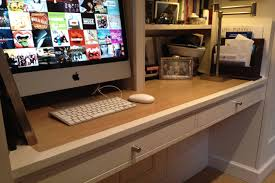 home office desk worktops. Fitted Home Study With Storage And Shelves - Worktop Detail Office Desk Worktops /