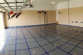 Epoxy flooring garage Dark Grey Car Garage Epoxy Floor Stronghold Floors Car Garage Epoxy Floor Exterior Performance Coatings