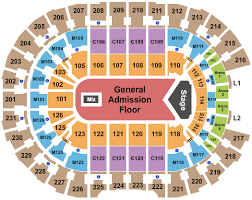 Concert Seating Chart Quicken Loans Arena Rocket Mortgage Fieldhouse Tickets With No Fees At Ticket Club