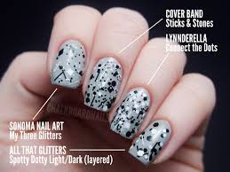 The Ultimate Black and White Glitter Comparison Post | Chalkboard ...