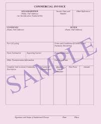 Commercial Invoice < Documents | Ocean Freight