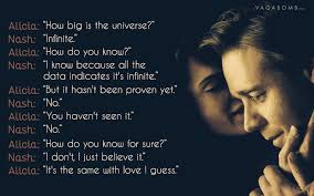 A Beautiful Mind Quote About Love