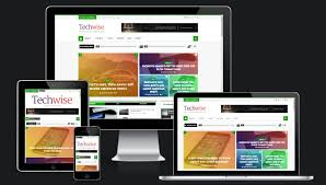 responsive blogger templates techwise magazine blogger template templatesyard free blogger