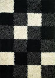 modern rug texture. Concord Global Shaggy 1523 Block Rug Modern Texture