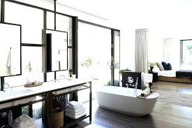 master bedroom with open bathroom. Open Bedroom Bathroom Design 2 Concept Master And With N