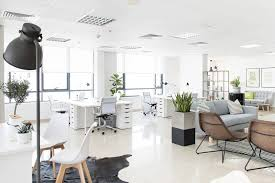 stylish office. ideas for creating a stylish white office that will increase productivity